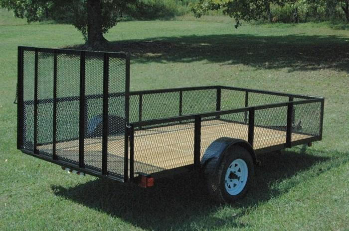 Landscape Trailer with High Sides