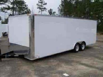 lark 8 5x26 tandem axle cargo trailers cargo trailers for sale