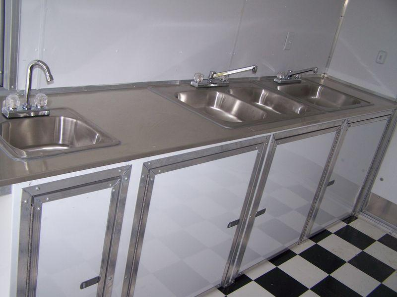 Complete Concession Water & Sinks Package ~ Trailers 2 Go 4 Less
