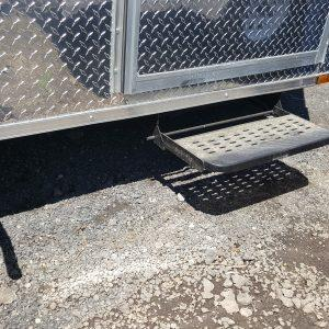 RV Style Pull-out Door Step