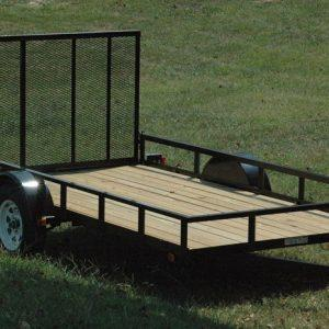 "Currahee 5' X 8' Landscape Trailer 15"" Tires"