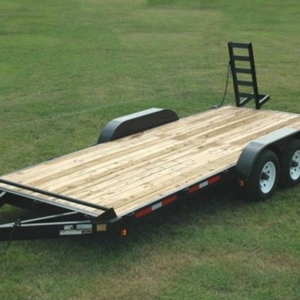 "Currahee 82"" X 16' 10K Deluxe Channel Flatbed Trailer"
