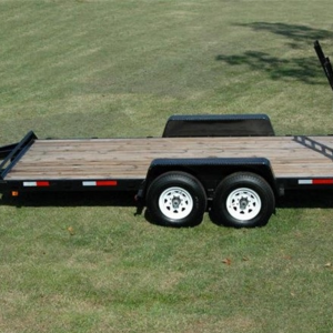 "Currahee 82"" X 16' 12K Channel Flatbed Trailer"