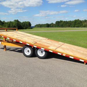 "Econoline 7-Ton 102"" x 21' Deckover Multi-Purpose Tilt Trailer"