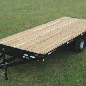 Currahee 8' X 20' 12K Channel Overbed Trailer