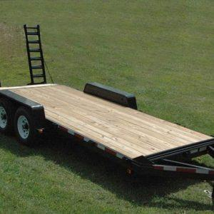 "Currahee 82"" X 16' 12K Deluxe Channel Flatbed Trailer"