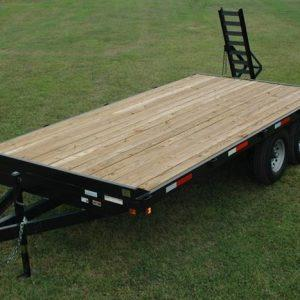Currahee 8' X 20' 12K Channel Overbed Trailer with Equipment Package