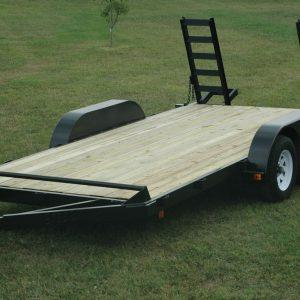 "Currahee 82"" X 16' Channel Flatbed 7K Trailer"