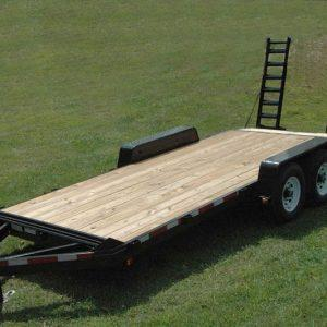 "Currahee 82"" X 16' Deluxe Channel Flatbed 7K Trailer"