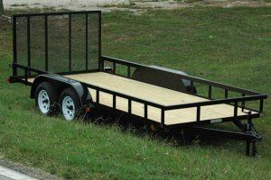 Double Axle Landscape Trailer