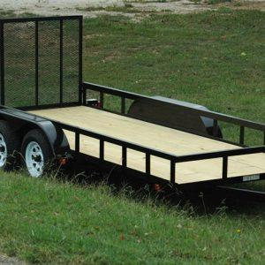 "Currahee 76"" X 12' Landscape Trailer Double Axle"