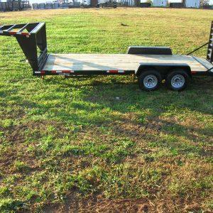 "Currahee 82"" X 20' 12K Gooseneck Channel Flatbed Trailer"