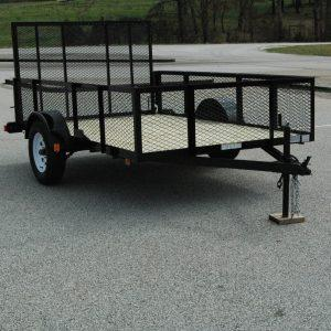 "Currahee 5' X 8' Landscape Trailer with High Sides, 15"" Tires"