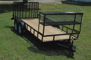 Landscape Trailer Double Axle Commercial Edition