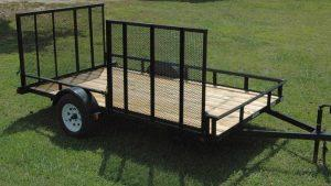 Landscape Trailer with Side Gate