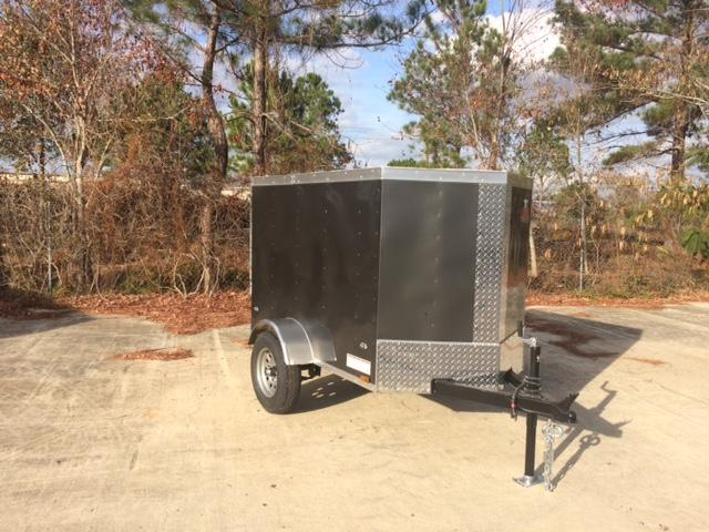 4x6 Enclosed Trailer >> Anvil 4 X 6 Cargo Trailer Single Axle Enclosed