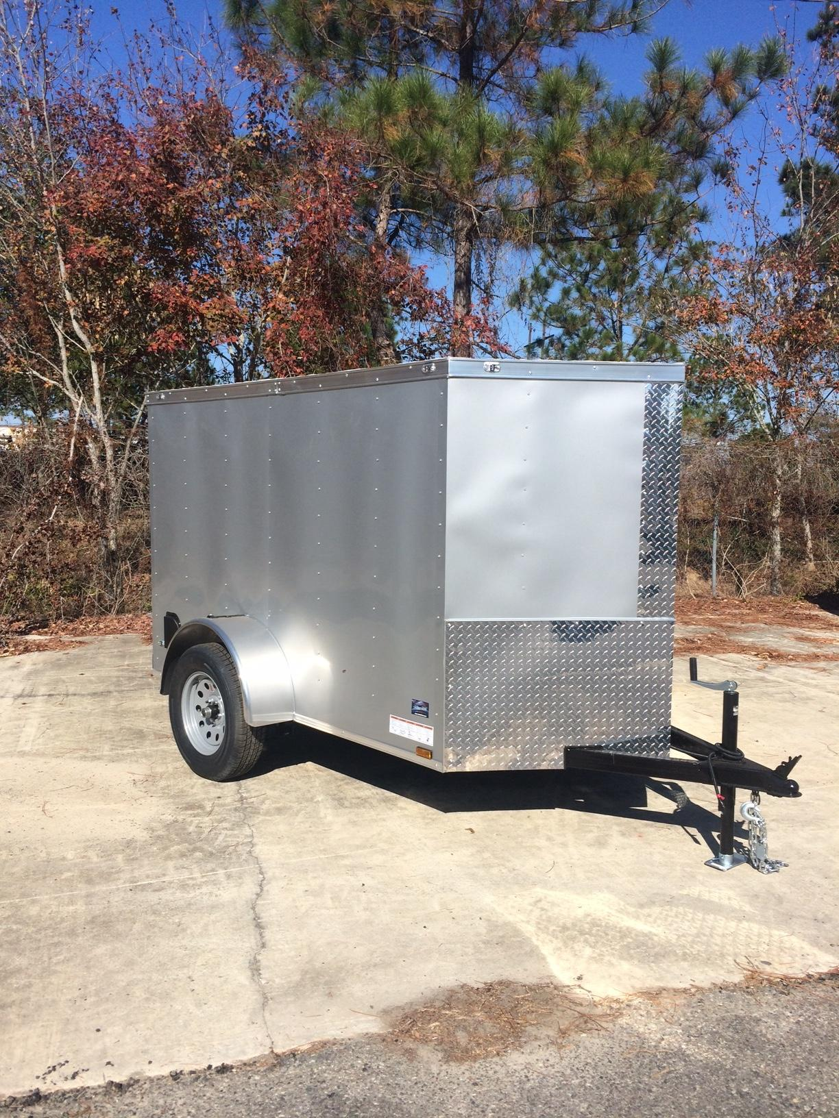 Anvil Elite 5 X 8 Single Axle Cargo Trailer