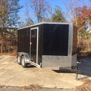 Anvil Elite 7' x 12' Tandem Axle Cargo Trailer