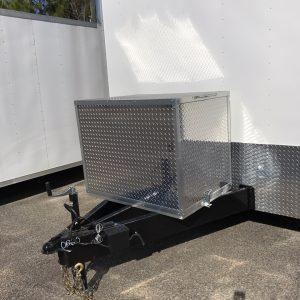 Generator ATP Flip Up Box w/Prep Pack on Extended Triple Tube Tongue (Any Flat Front Trailer)