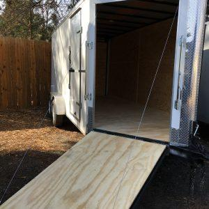 """Add 60"""" Wide Spring Assist Ramp Load Door on Either Side Only (Limited Models)"""
