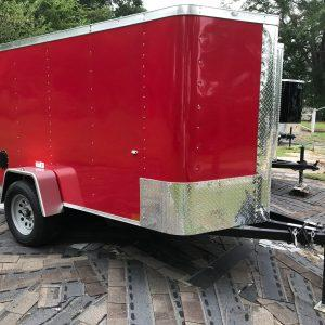 Cargo Craft Texas Elite V-Nose 5' x 10' Single Axle Cargo Trailer