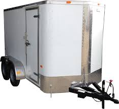 Cargo Craft Texas Elite V-Nose 6' x 12' Tandem Axle Cargo Trailer