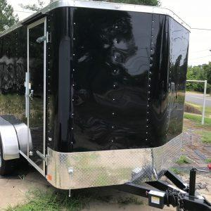Cargo Craft Texas Elite V-Nose 7' x 14' Tandem Axle Cargo Trailer