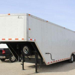Cargo Craft Texas 8.5' x 24' Tandem Axle Gooseneck Heavy Duty Trailer