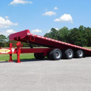 "Econoline 30-Ton 102"" x 30' Tri Axle Tilt Bed Trailer ""Air Brakes"""
